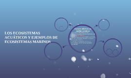 Copy of LOS ECOSISTEMAS ACUÁTICOS Y EJEMPLOS DE ECOSISTEMAS MARINOS