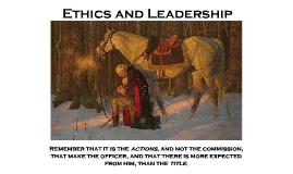 COL Valenzuela Ethics Briefing