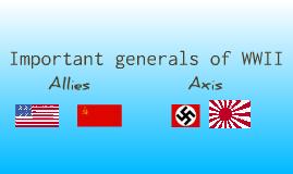 Copy of WW2 generals