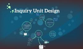 Science Unit Design