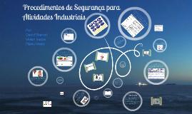 Copy of Copy of Saúde e Segurança no trabalho