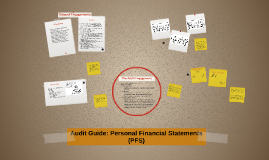 Audit Guide: Personal Financial Statements (PFS)