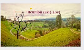 Reunión 11/05/2015