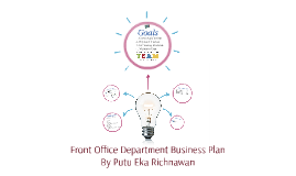 Front Office Department Business Plan