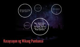 Mga Suliranin na Naging Hadlang Upang ang Tagalog ay Magtagu