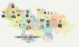 ~Costume History~