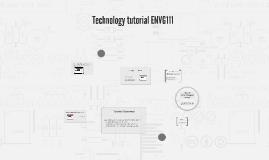 Technology tutorial