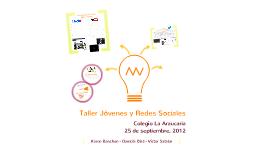Copy of Taller Jóvenes y Redes Sociales