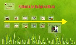 Historia de la Agricultura