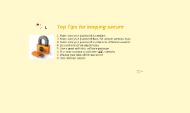 An introduction to e-Security in your Business