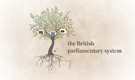 the British parliamentary system
