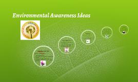 Environmental Awareness Ideas