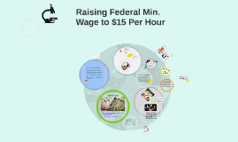 Rasing Federal Min. Wage to $15 Per Hour