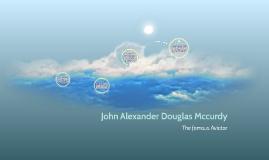 John Alexander Douglas Mccurdy