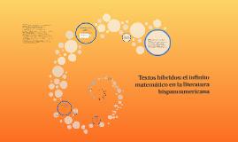 Textos híbridos: el infinito matemático en la literatura his