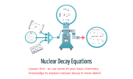 Nuclear Decay Equations