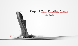Copy of Capital Gate Building Tower - Abu Dhabi