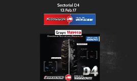 Sectorial D4 - FEBRERO  2017