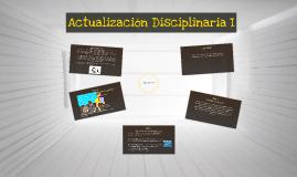 Copy of Actualización Disciplinaria