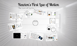 Newton's First Law of Motion:The Law of Intertia
