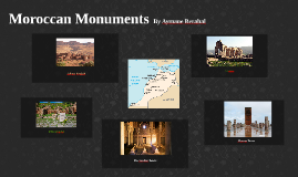 Moroccan Monuments