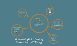 "AP Seminar/English II  - ""Surviving Sophomore Year"" - QFT St"