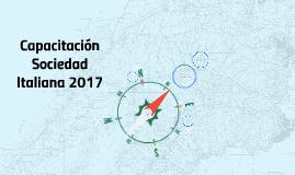 Capacitación Sociedad Italiana 2017