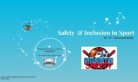 Safety in Sport