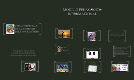 Modelo Pedagógico Informacional