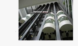 2016-2017 Elevator pitch voor ondernemers