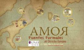 Copy of Fuentes Formales del Derecho Romano