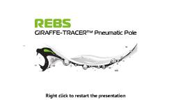 REBS GIRAFFE-TRACER™ Pneumatic Pole