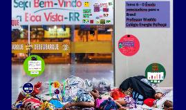 Temas 6,7 - Refugiados Venezuelanos e  Lei da Migração