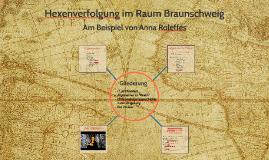 Hexenverfolgung im Raum Braunschweig