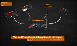 War and Peace: Social Interactions in Infections