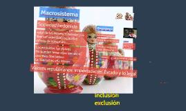 inclusión - exclusión