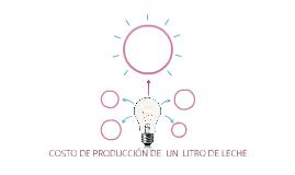 COSTO DE PRODUCCIÓN DE  UN  LITRO DE LECHE