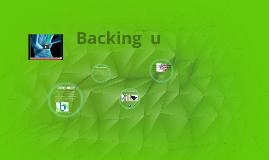 backing u