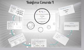 Reinforce Concrete I