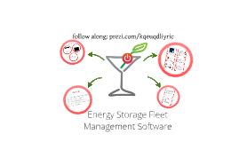 Energy Storage Fleet Management Software discussion