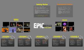 Epic Battles / Stage Combat