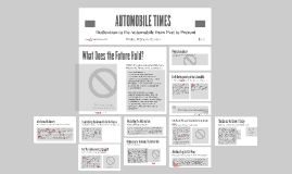 AUTOMOBILE TIMES: Dedication to the Automobile from Past to