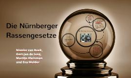 Die Nürnberger Rassengesetze