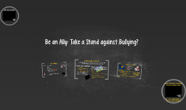 Be an Ally: Take a Stand against Bullying