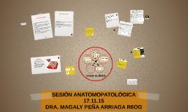 SESIÓN ANATOMOPATOLÓGICA