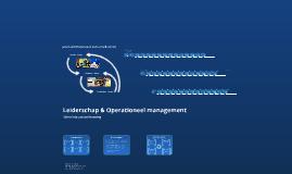 Copy of Leiderschap & Operationeel management