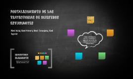 FORTALECIMIENTO DE LAS TRAYECTORIAS de nuestros estudiantes