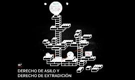 DERECHO DE ASILO Y DERECHO DE EXTRADICION