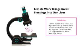 Temple Prep Lesson 3