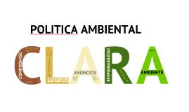 Copy of Politica Ambiental